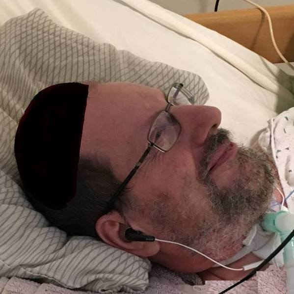 Rabbi David Frid: Father of 8 with ALS